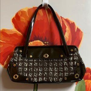 St. John vintage knit chain link bag